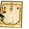 Diploma military academy, 1937